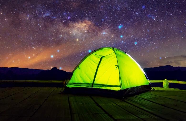 Freischreiber-Zelt