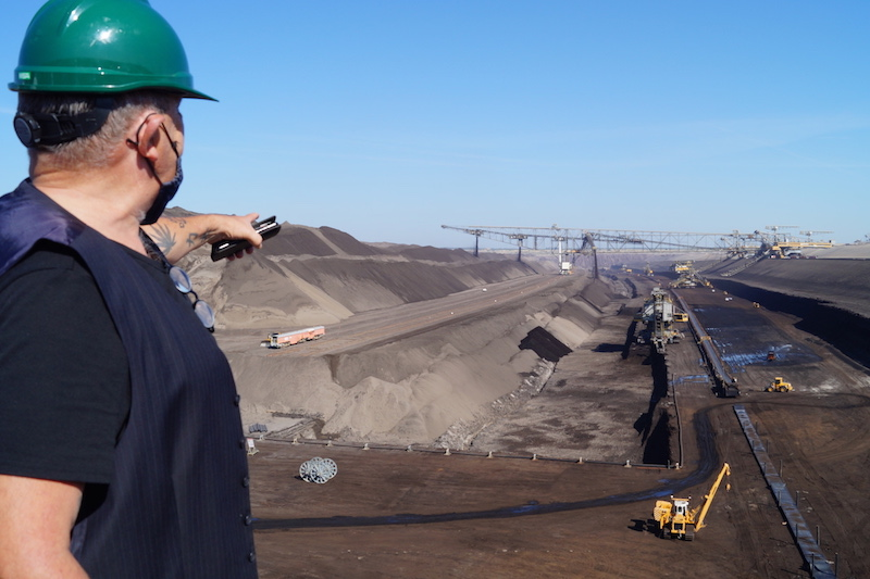 Braunkohle-Tagebau, Lausitz